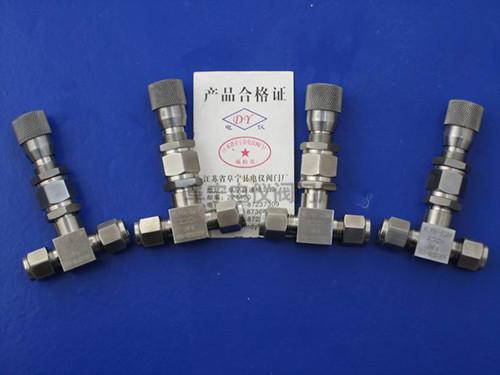 直通内螺纹微量调节针阀WL13H-320P G1/4