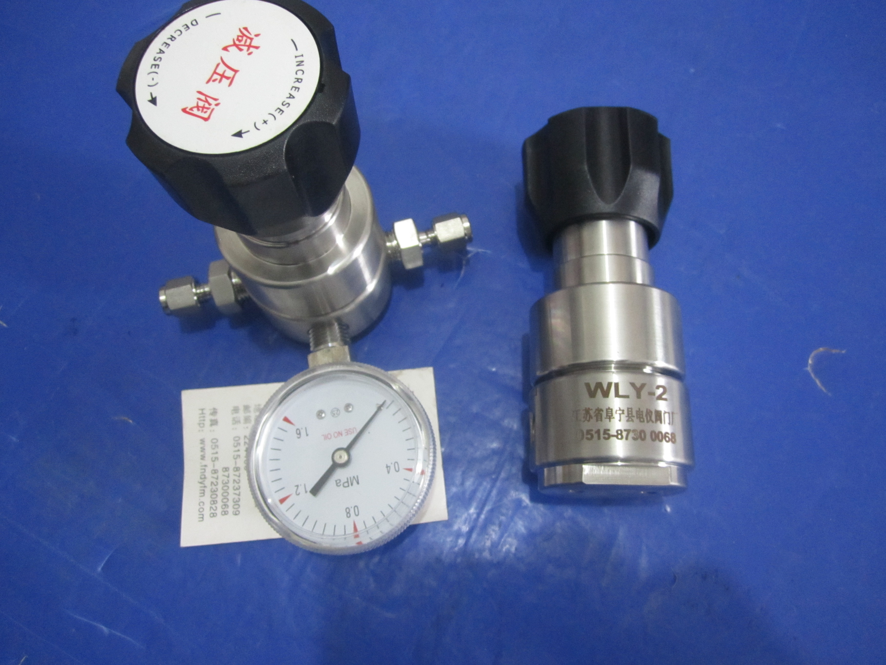 实验室气体高压减压阀减压器调压阀